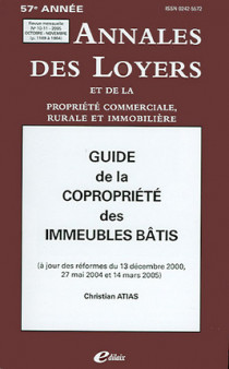 Annales des loyers, 57e année, octobre-novembre 2005 N°10-11