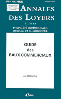 Annales des loyers, 58e année, novembre-décembre 2006
