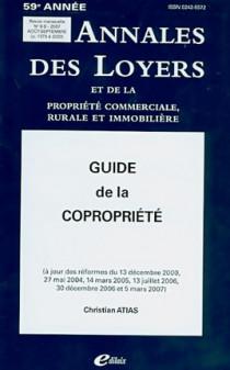Annales des loyers, 59e année, août-septembre 2007 N°8-9