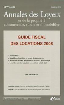 Annales des loyers, 60e année, février-mars 2008 N°2-3