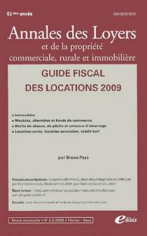 Annales des loyers, 61e année, février-mars 2009 N°2-3