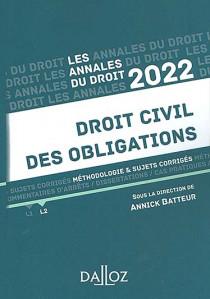 Annales droit civil des obligations 2022