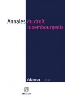 Annales du droit luxembourgeois 2011