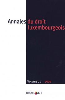 Annales du droit luxembourgeois 2019