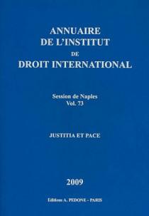 Annuaire de l'Institut de Droit International (relié)