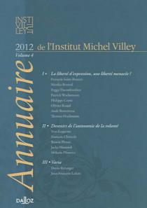 Annuaire de l'Institut Michel Villey 2012