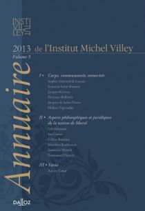 Annuaire de l'Institut Michel Villey 2013