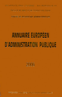 Annuaire européen d'administration publique 2006
