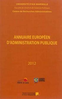 Annuaire européen d'administration publique 2012