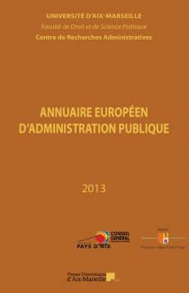Annuaire européen d'administration publique 2013