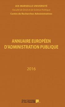 Annuaire européen d'administration publique 2016