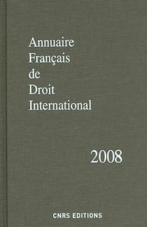 Annuaire français de droit international 2008