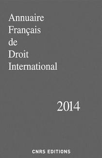 Annuaire français de droit international 2014