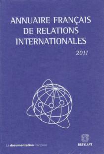 Annuaire français de relations internationales 2011