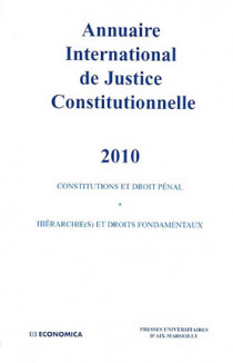 Annuaire International de Justice Constitutionnelle 2010