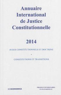 Annuaire international de justice constitutionnelle 2014