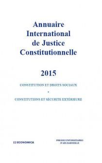 Annuaire international de justice constitutionnelle 2015
