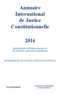 Annuaire international de justice constitutionnelle 2016