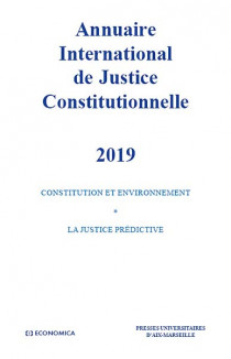 Annuaire International de Justice Constitutionnelle 2019