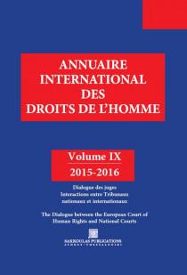 Annuaire international des droits de l'Homme 2015-2016