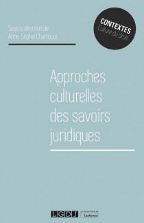 [EBOOK] Approches culturelles des savoirs juridiques