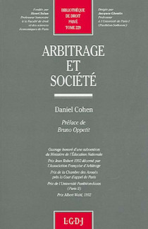Arbitrage et société