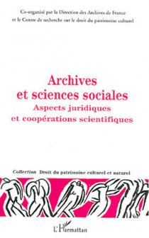 Archives et sciences sociales