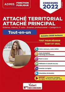 Attaché territorial, attaché principal : concours 2022