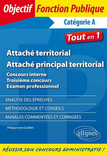 Attaché territorial - Attaché principal territorial