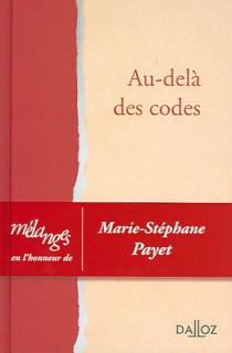Au-delà des codes
