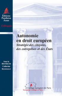 Autonomie en droit européen