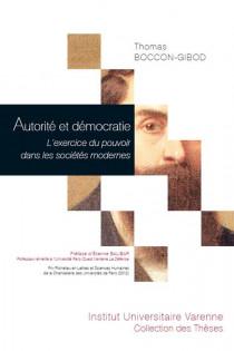 Autorité et démocratie