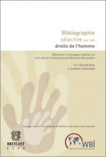 Bibliographie sélective sur les droits de l'homme