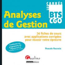 Carrés BTS - GGO - Analyses de Gestion - Epreuve 5