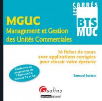 Carrés BTS - MUC - Management et gestion des unités commerciales (MGUC) - Epreuve 3