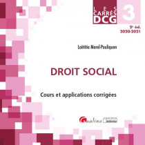 [EBOOK] DCG 3 - Droit social