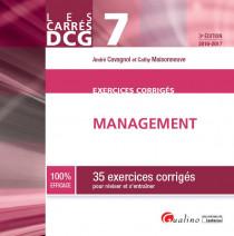Carrés Exos DCG 7 - Exercices corrigés de management 2016-2017