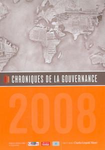 Chroniques de la gouvernance 2008