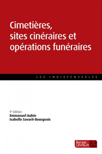 Cimetières, sites cinéraires et opérations funéraires