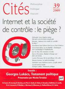 Cités, 2009 N°39