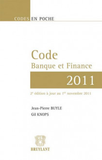 Code banque et finance 2011