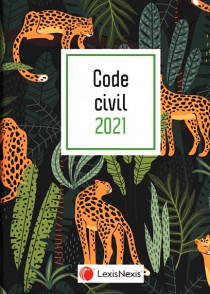 Code civil 2021 (jaquette amovible Jungle)