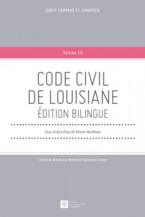 Code civil de Louisiane. Edition bilingue