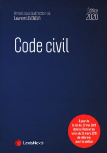 Code civil - Édition 2020
