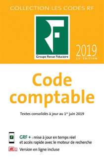 Code comptable 2019