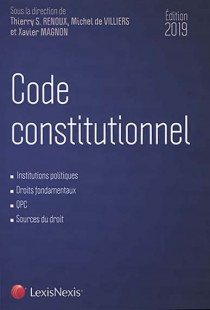 Code constitutionnel - Edition 2019
