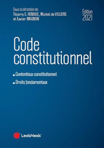 Code constitutionnel - Édition 2021