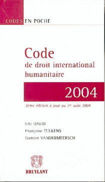 Code de droit international humanitaire
