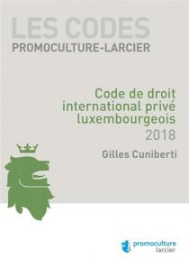 Code de droit international privé luxembourgeois 2018