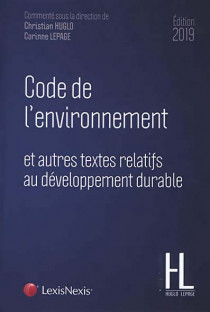 Code de l'environnement - Edition 2019